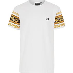 Criminal Damage - T-shirt met barokmouwen voor jongens