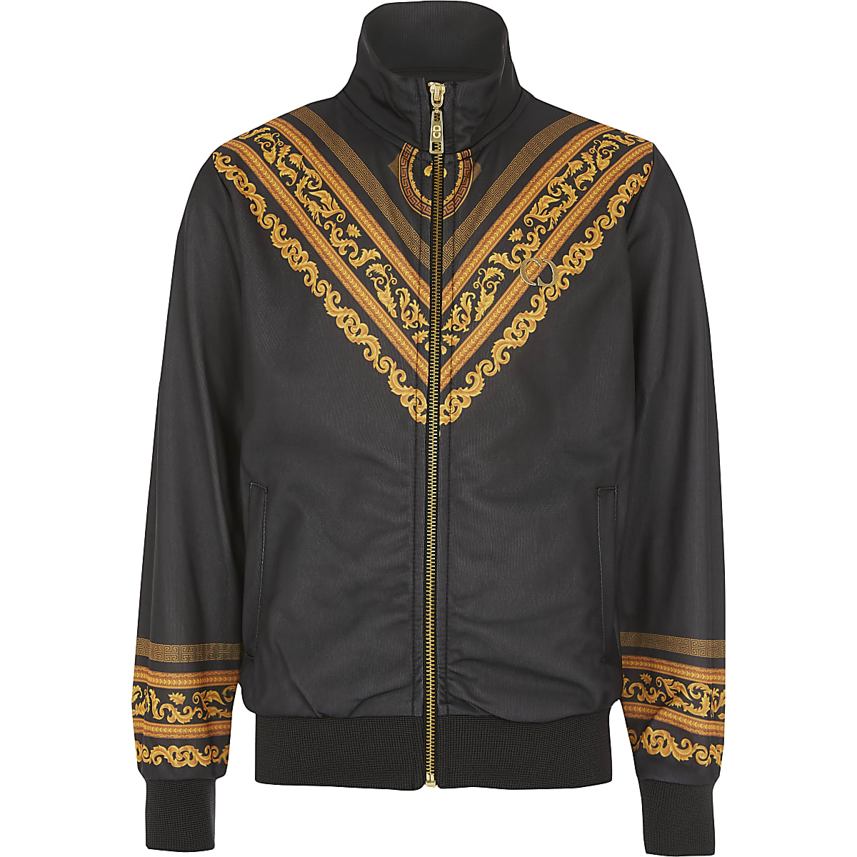Boys Criminal Damage baroque windbreaker