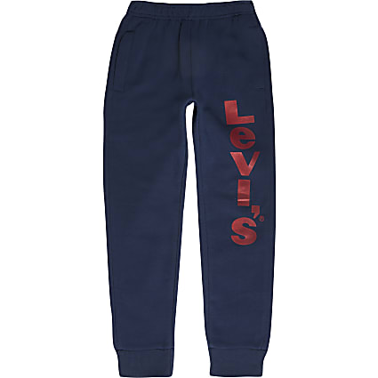 Boys Levi's blue joggers