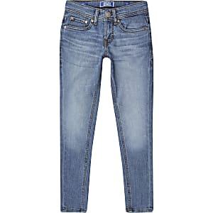 Jack & Jones - Blauwe skinny jeans voor jongens
