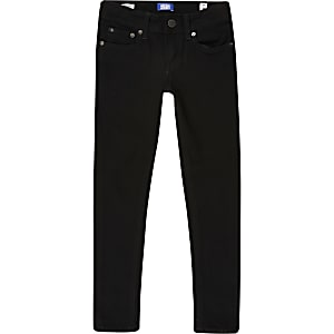 Boys Jack & Jones black skinny jeans