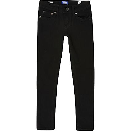 Boys Jack & Jones black skinny jeans