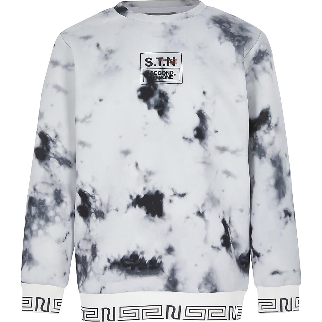 Boys RI Active marble STN print jumper