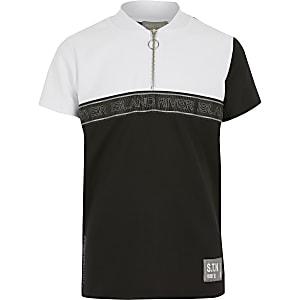 RI Active - Wit STN T-shirt met kleurvlakken voor jongens