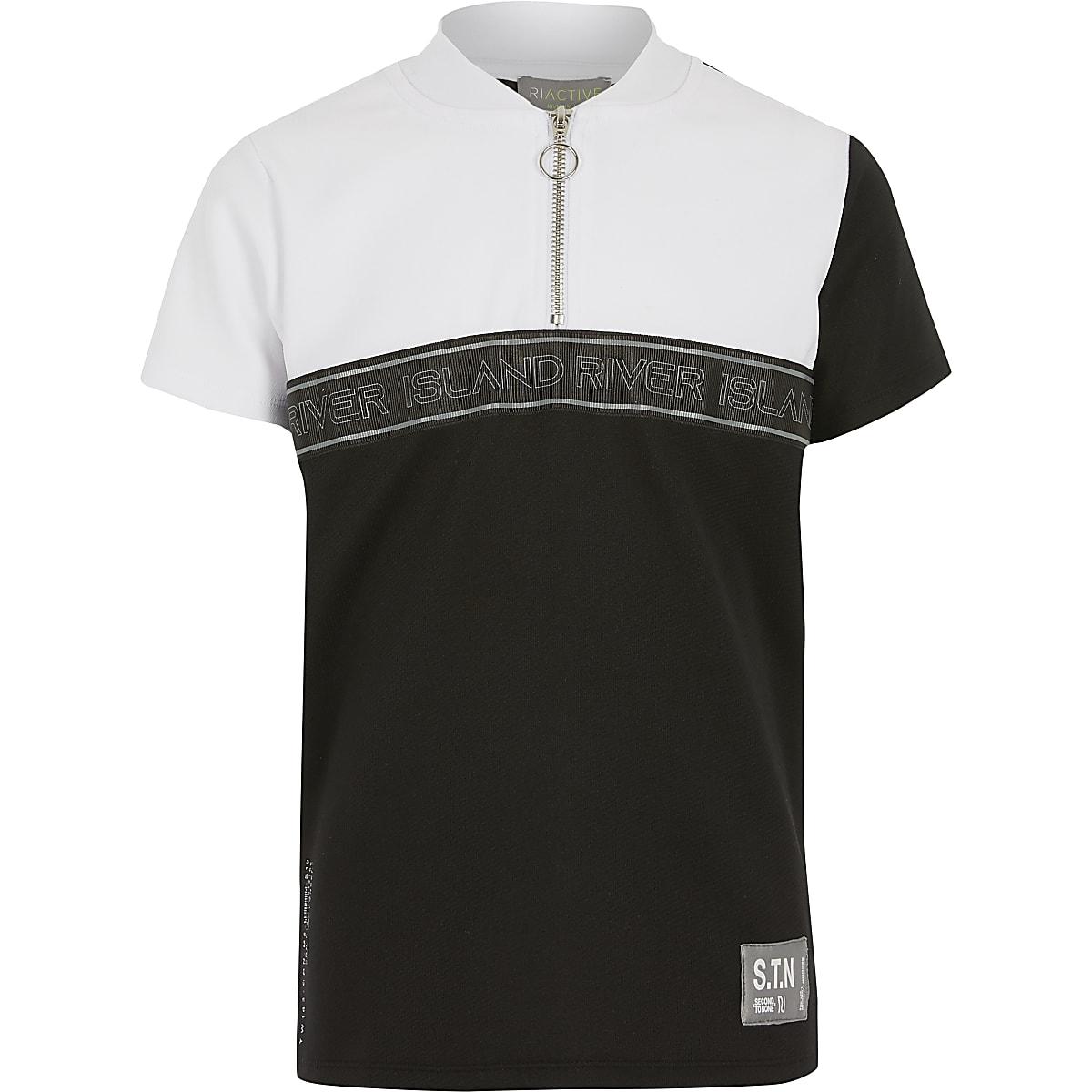 RI Active - T-shirt blanc STN colourblockpour garçon