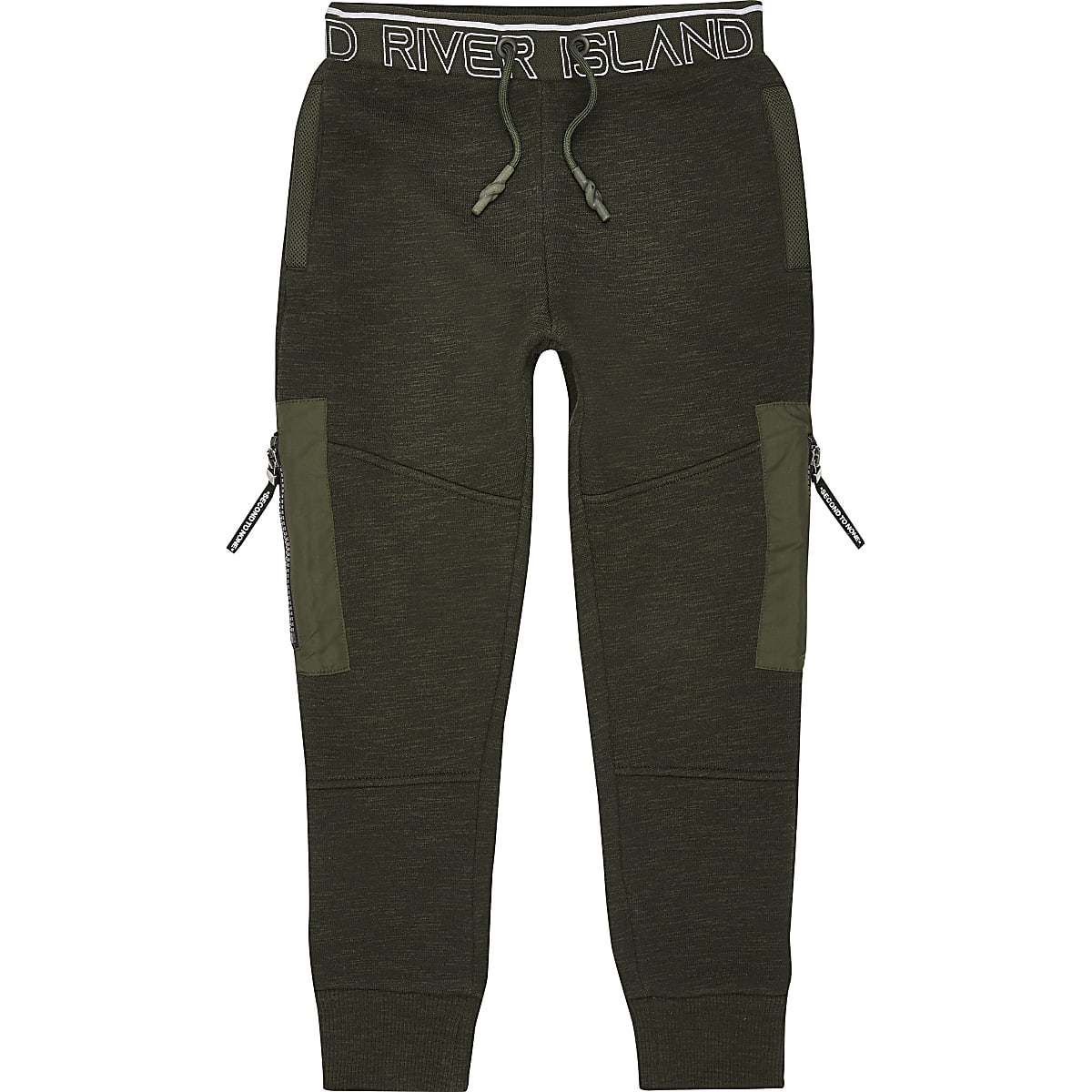 Boys RI Active black STN belted jogger