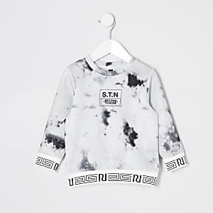 """Mini – Sweatshirt """"STN"""" mit Marmor-Muster  vonRI Active für Jungen"""