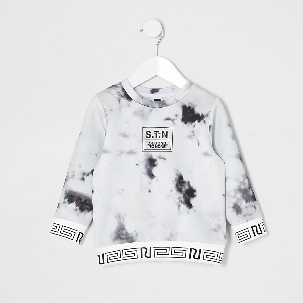 Mini boys RI Active STN marble sweatshirt
