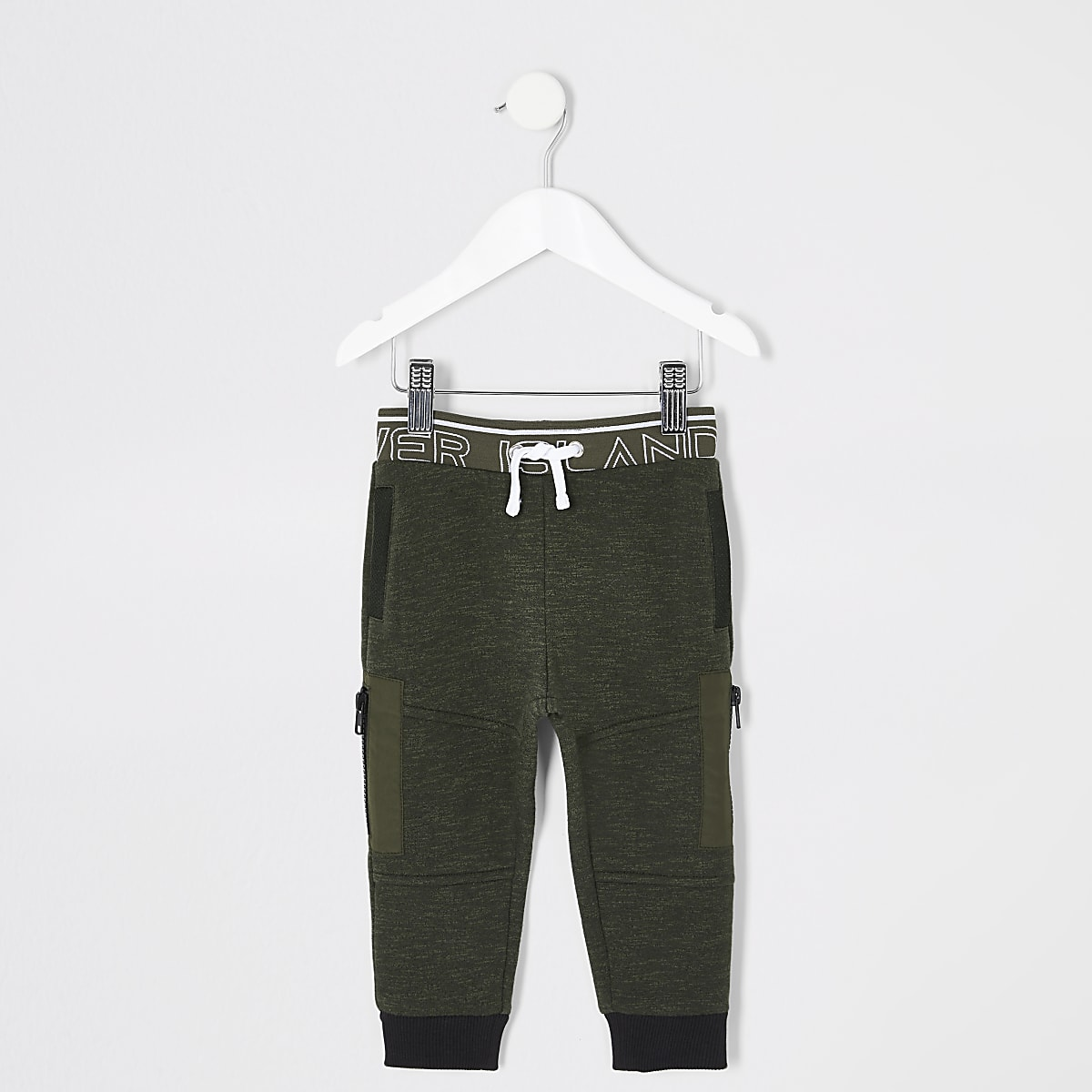 Mini boys RI Active kahki track joggers