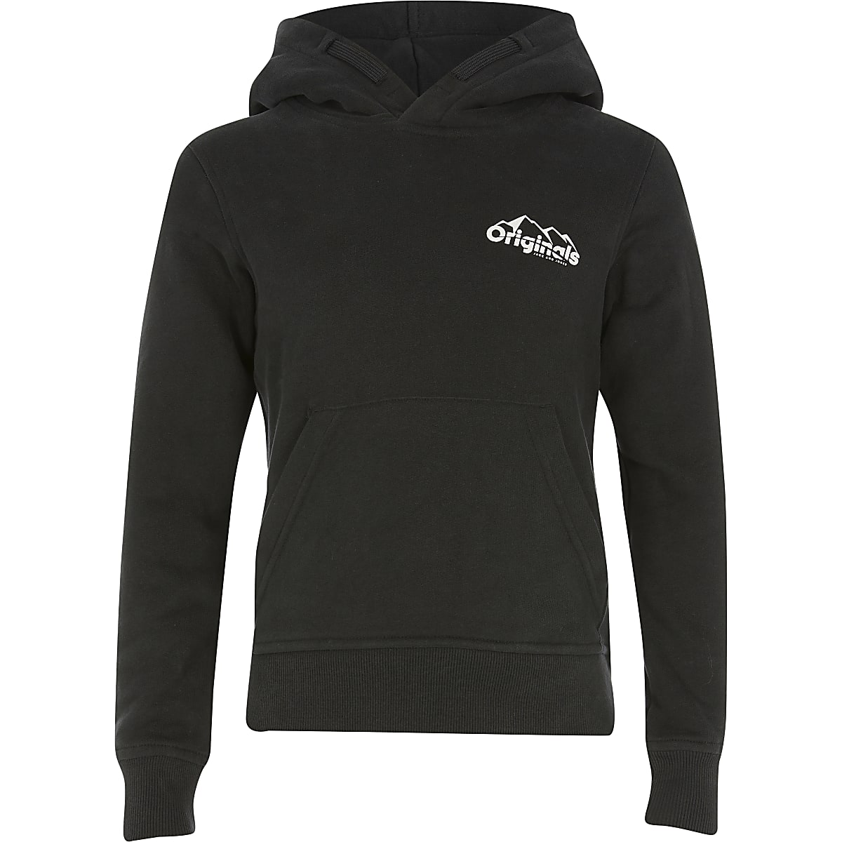 Boys Jack and Jones black hoodie