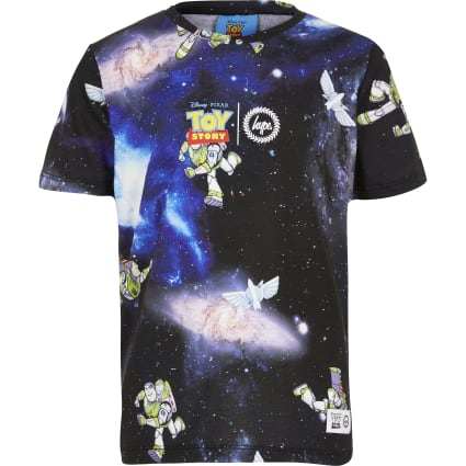 Boys Hype blue Toy Story space T-shirt