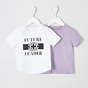 "T-Shirt ""Future leader"", Set"