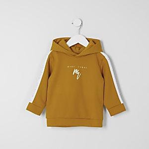 Maison Riviera- Gele tape hoodie voor mini-jongens