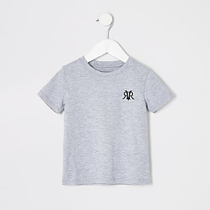 Mini boys grey RI T-shirt