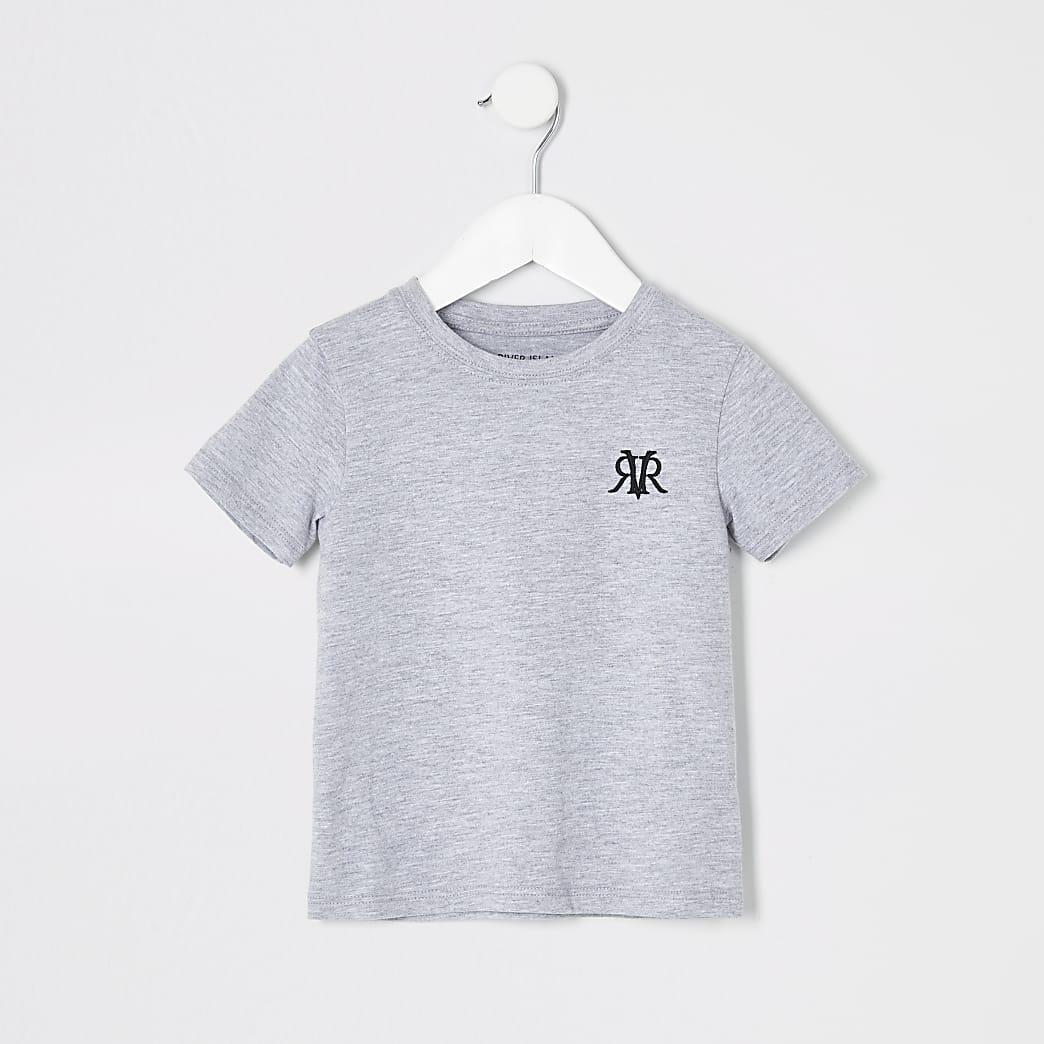 Mini boys grey RI T-shirt