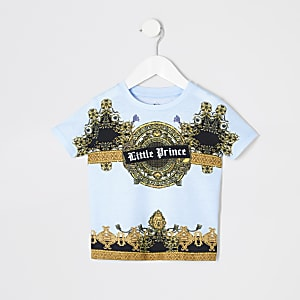 "Blaues T-Shirt ""Little Prince"""