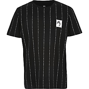 Boys black 'Maison Riviera' T-shirt