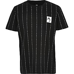 Boys black 'Maison Riviera' T-shirt