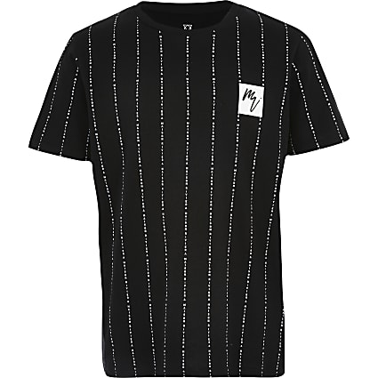 Boys black Maison Riviera T-shirt