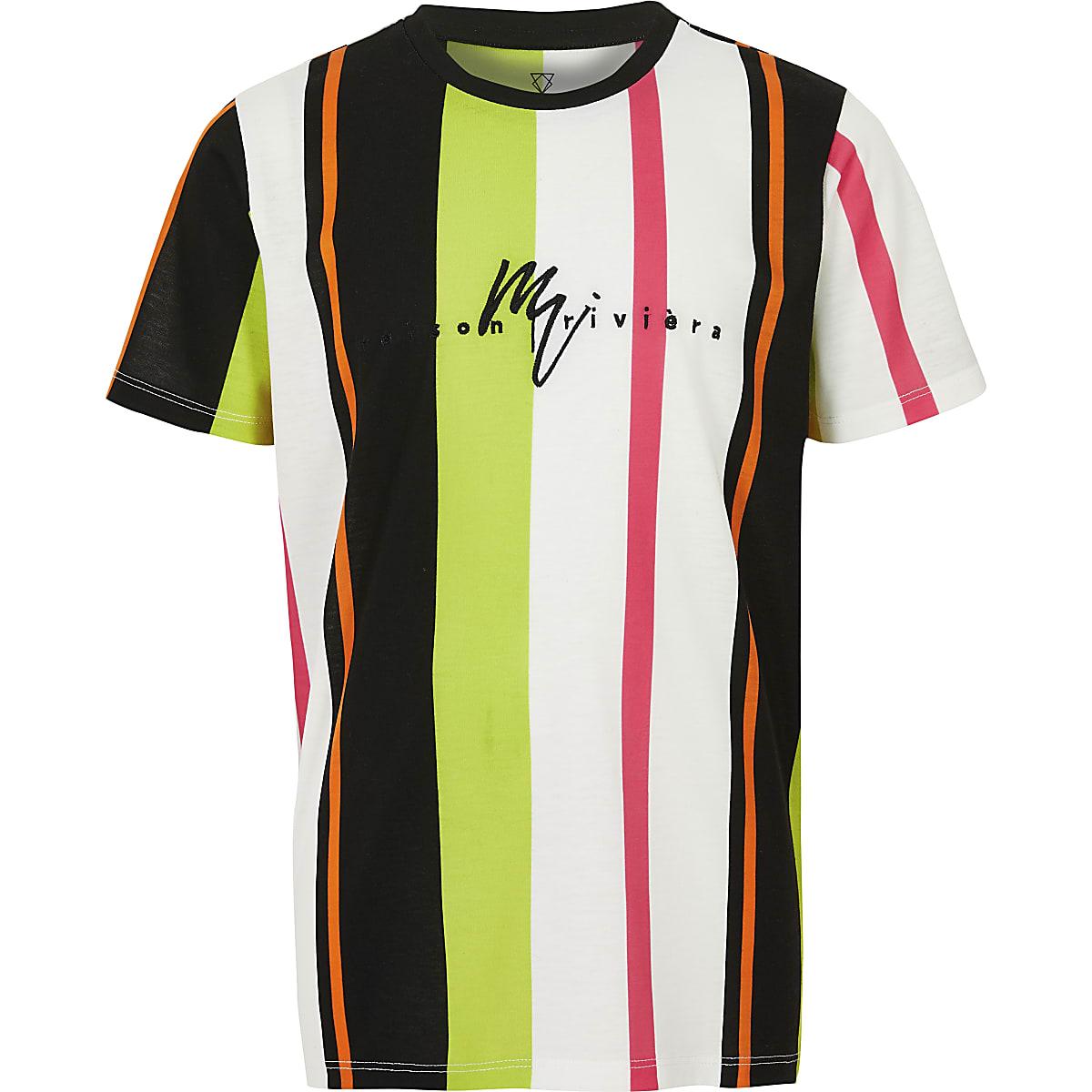 f54eec54 Boys pink stripe T-shirt - T-shirts - T-Shirts & Vests - boys