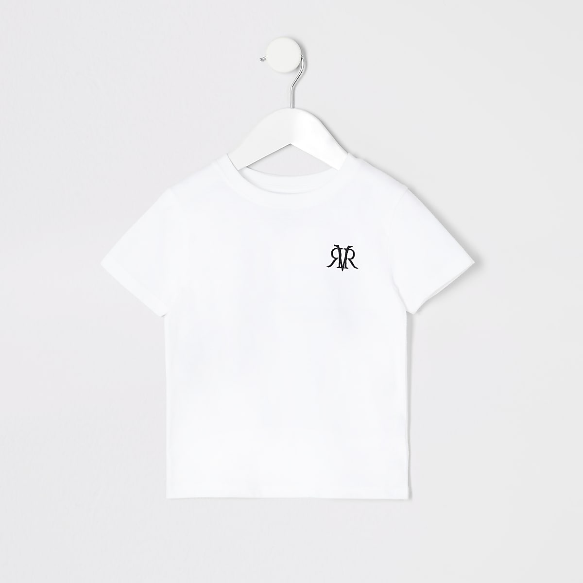 Mini boys white RI T-shirt
