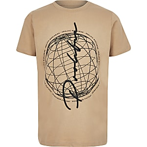 Boys stone prolific world T-shirt
