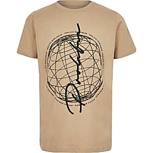 T-shirt «prolific» grège pour garçon