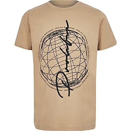 Boys stone Prolific printed T-shirt