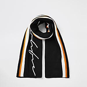 Prolific- Zwarte gestreepte sjaal voor jongens
