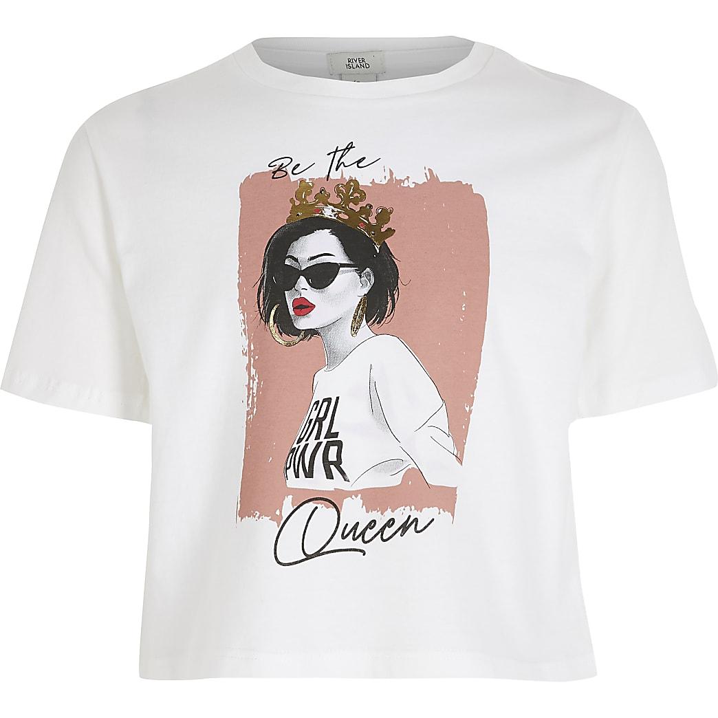 Girls 'Be the Queen' T-shirt