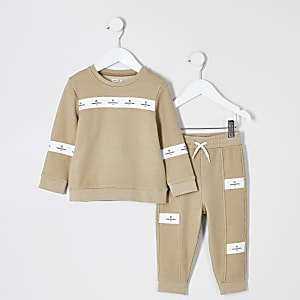 Mini - Maison Riviera - Sweater outfit voor jongens