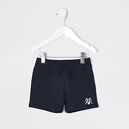 Mini boys navy RVR shorts