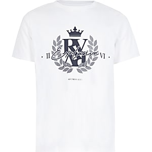 T-shirt blanc « Exclusive»pour garçon