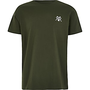 T-shirt RVR kaki pour garçon