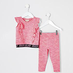 RI Active - Roze outfit voor mini-meisjes