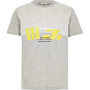 Prolific – T-shirt grisimprimé pour garçon