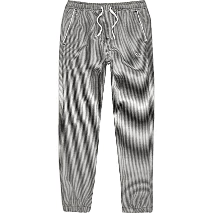 Boys grey houndstooth check joggers