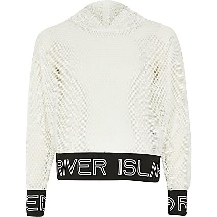 Girls RI Active mesh hoodie