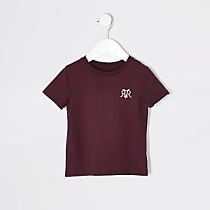Mini – Rotes RVR-T-Shirt für Jungen