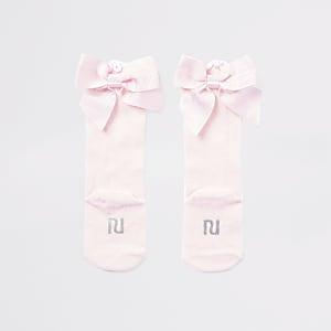 Baby-Kniestrümpfe in Pink