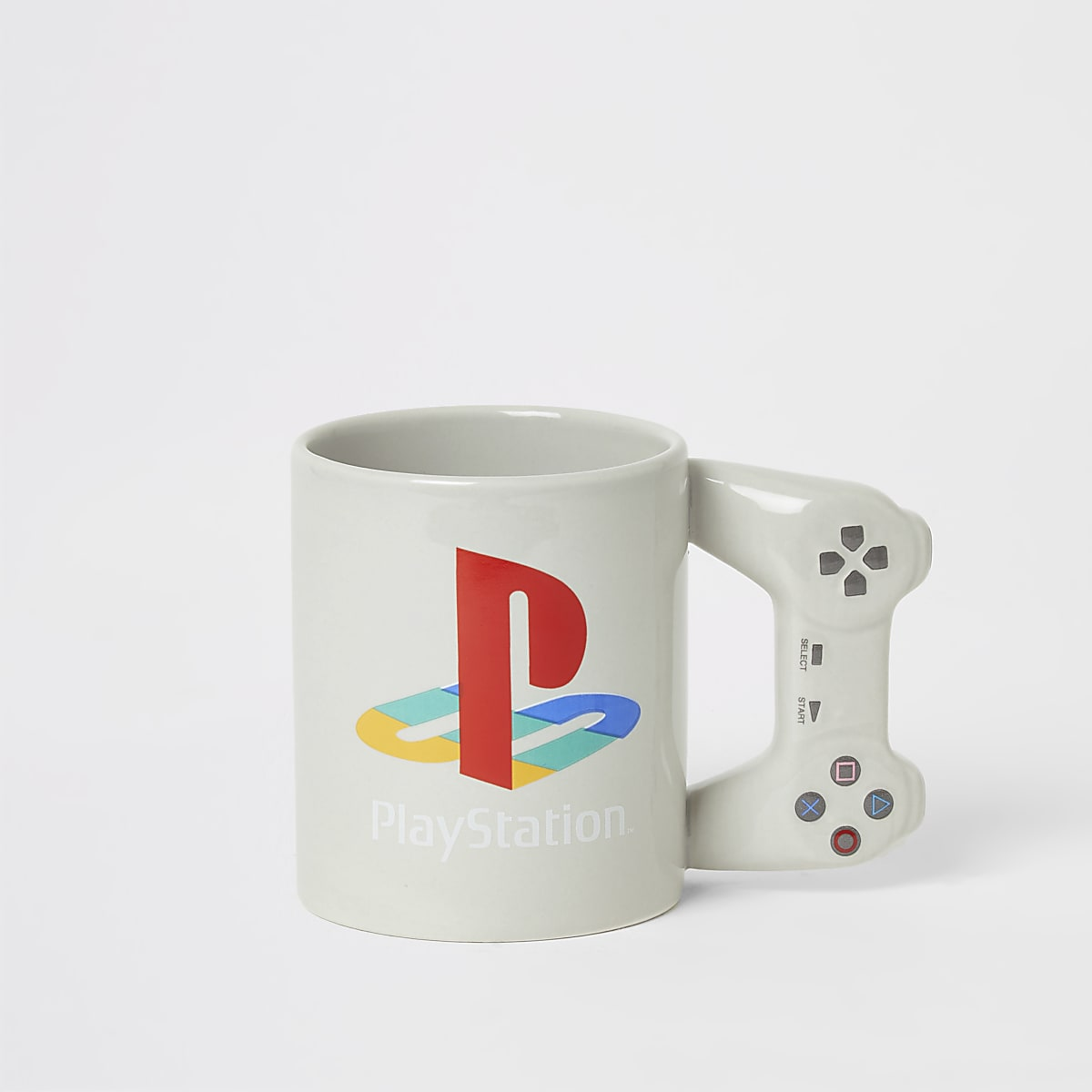 Boys grey PlayStation printed mug