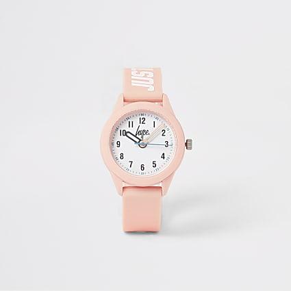 Girls Hype pink watch