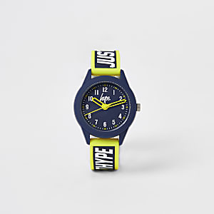 Boys Hype yellow colour pop watch