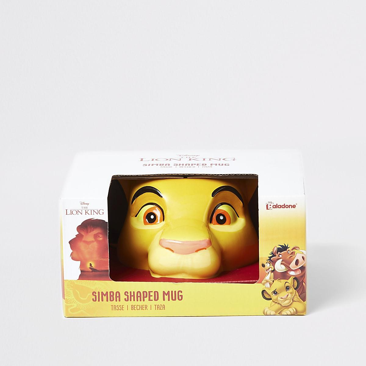 Kids yellow Lion King mug