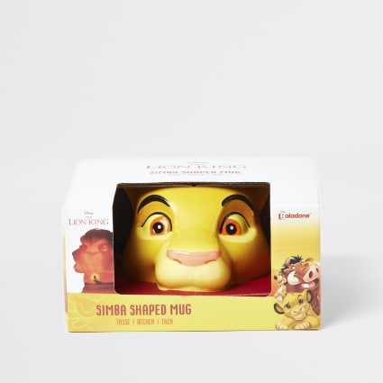 Kids yellow Lion King mug