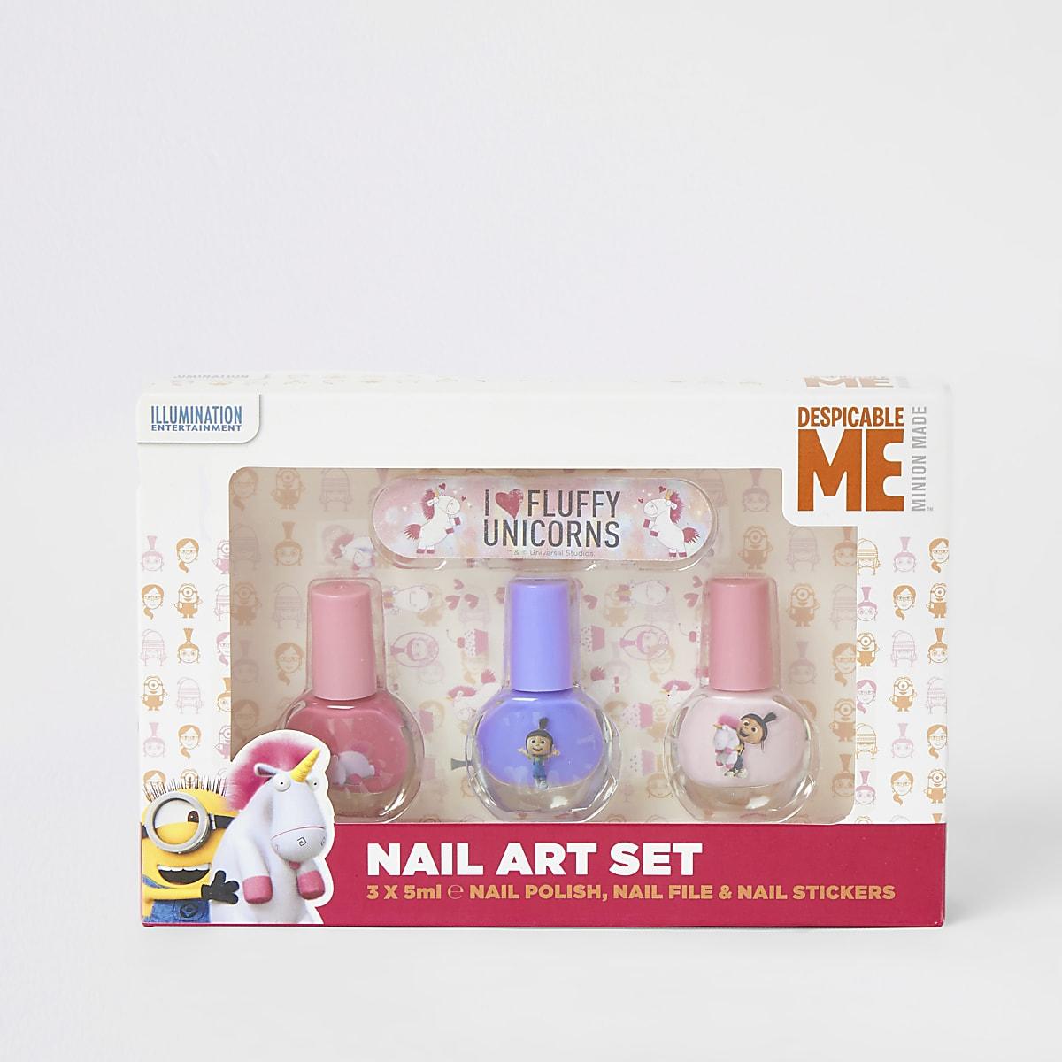 Despicable Me nail art set