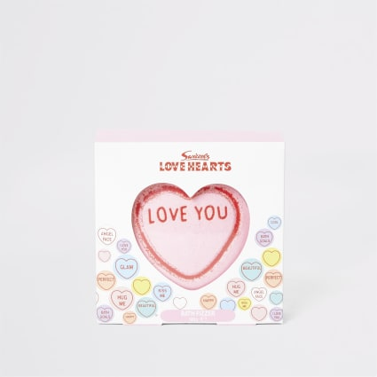Girls Love Hearts bath fizzer
