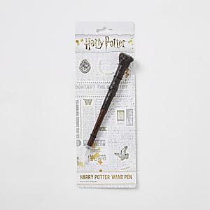 Stylo baguette magique marron Harry Potter pour enfant