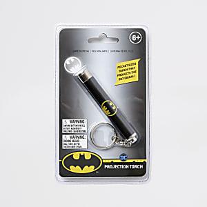 Torche de projection noire Batman pour garçon