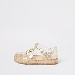 Mini girls girl RI jelly sandals